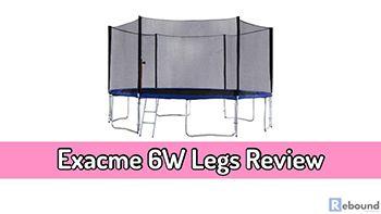Exacme 6W Legs Trampoline Combo Set Review